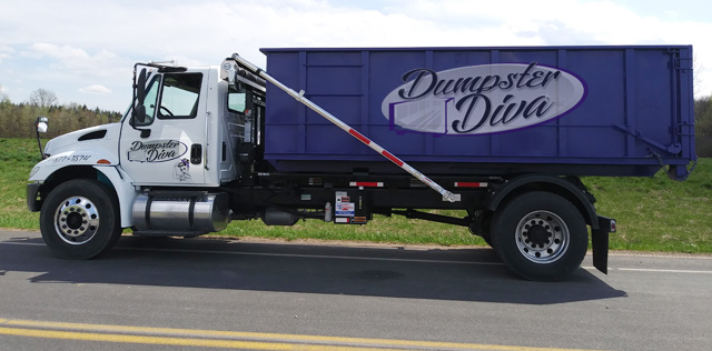 Roll-off dumpster rentals in Cortland, NY